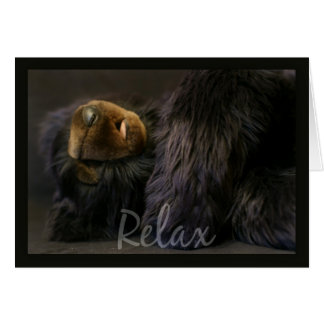 retirement card, relax and enjoy your retirement greeting card