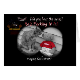 Retirement Day Greeting Card