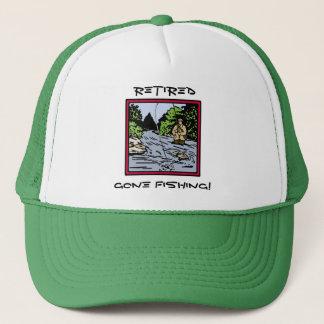 Retirement Fishing Trucker Hat