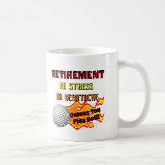 Retirement Gifts and Retirement T-shirts Basic White Mug
