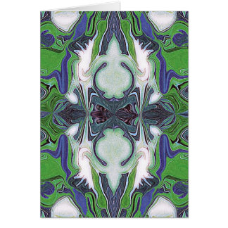 Retirement greeting card with kaleidoscope image