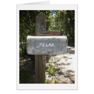 RETIREMENT HUMOR - RELAX-YOU REMEBER HOW? CARD