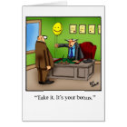 "Retirement Humour Greeting Card ""Spectickles"""