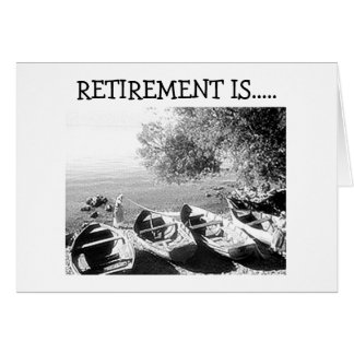 """RETIREMENT IS YOUR TIME - ENJOY"" CARDS"