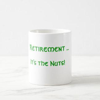 Retirement ... It's the Nuts! Basic White Mug