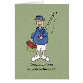 Retirement Male Greeting Card