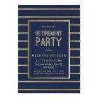 Retirement Party Invitation - Customise, Classy