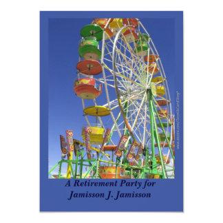 Retirement Party Invitation, Ferris Wheel