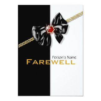 Retirement party retiring farewell CUSTOMIZE Card
