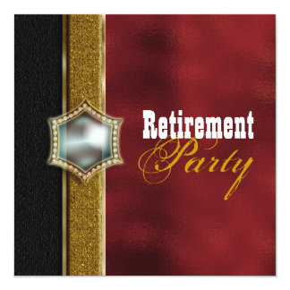 Retirement party retiring farewell CUSTOMIZE Personalized Invitation