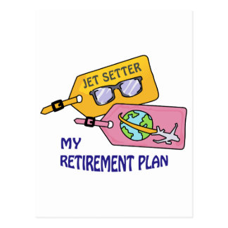 Retirement Plan Postcard