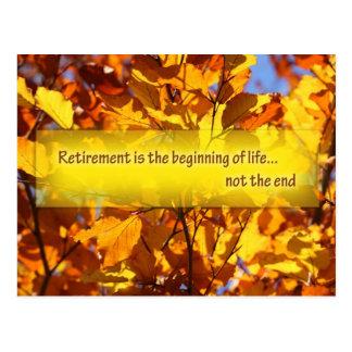 Retirement Postcard