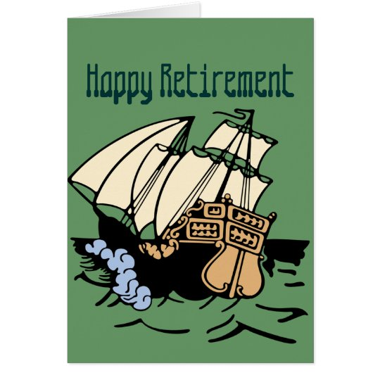 Retirement Ship Card