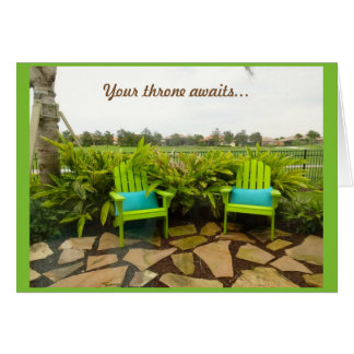 Retirement - Solivita Kissimmee Florida Greeting Card