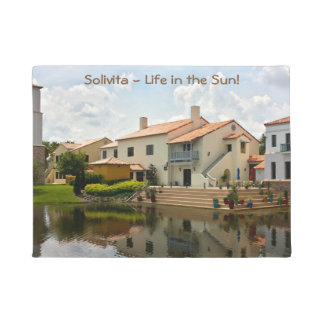 Retirement - Solivita Village Center Kissimmee FL Doormat