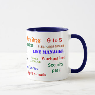 Retirement Swear Words Classic Mug