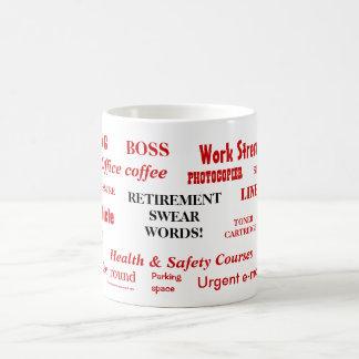 Retirement Swear Words Coffee Mug