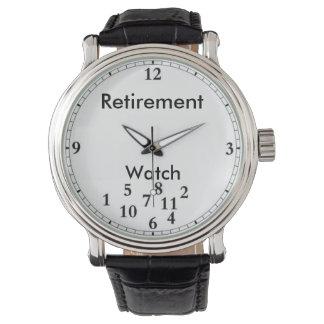 Retirement watch