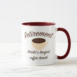 Retirement: World's longest coffee break Mug