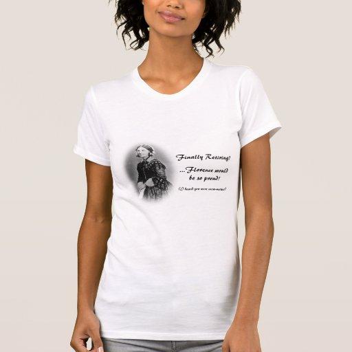 Retiring Nurse-Florence Nightingale Humor Tee Shirts