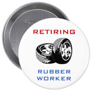 Retiring Rubber Worker Pin