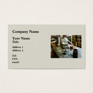 Retort in Chem Lab Business Card