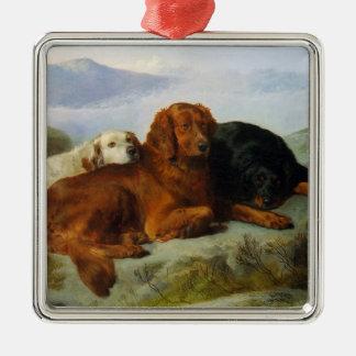 Retriever, Irish and Gordon Setter Print Ornament