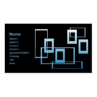 Retro 101 pack of standard business cards