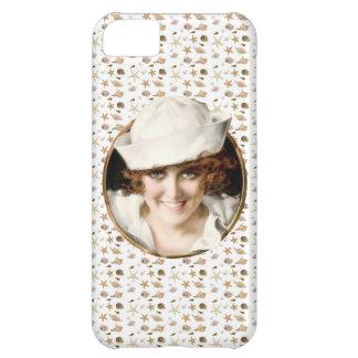 Retro 1920s Sailor Girl iPhone 5C Case