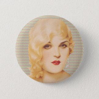 Retro 1930s Love 6 Cm Round Badge