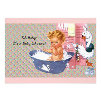 Retro 1940s Baby Shower Personalized Invite