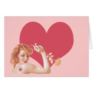 Retro 1940s Love Card