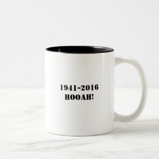 Retro 1941 Patch Hooah Mug