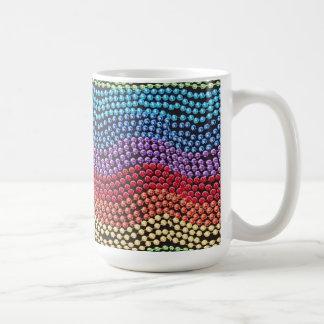 Retro 1950 / 1960 Pop-Bead Jewelry Coffee Mug