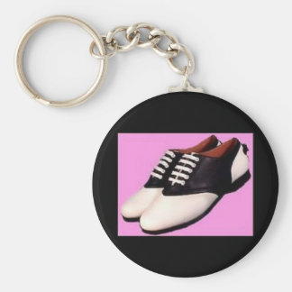 Retro 1950 Saddle Shoe Keychain