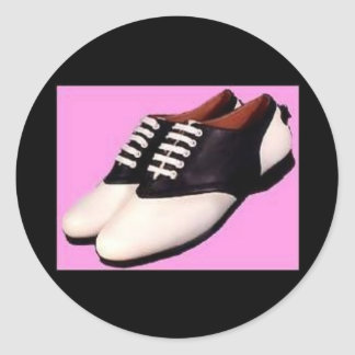 Retro 1950 Stickers Saddle Shoes