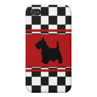 Retro 1950s Classic Scottish Terrier Dog iPhone 4/4S Case