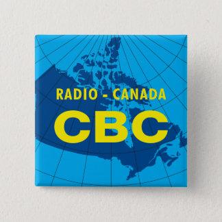Retro 1958-1966 15 cm square badge