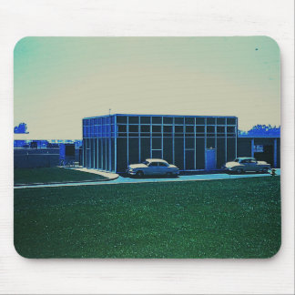 Retro 1960's Industrial Americana Mouse Mat / Pad