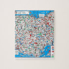 Retro 1966 Ohio map Jigsaw Puzzle