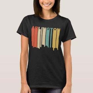 Retro 1970's Style Arlington Virginia Skyline T-Shirt