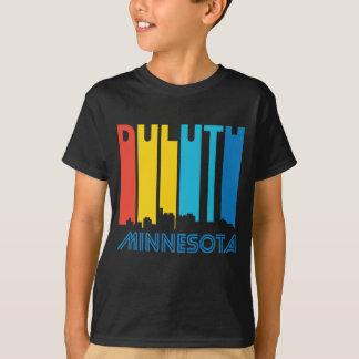 Retro 1970's Style Duluth Minnesota Skyline T-Shirt