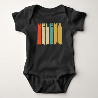 Retro 1970's Style Helena Montana Skyline Baby Bodysuit