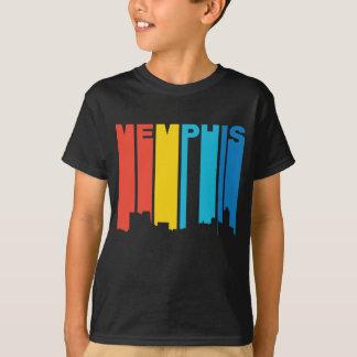 Retro 1970's Style Memphis Tennessee Skyline T-Shirt