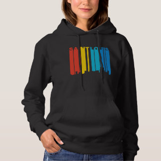 Retro 1970's Style Saint Louis Missouri Skyline Hoodie