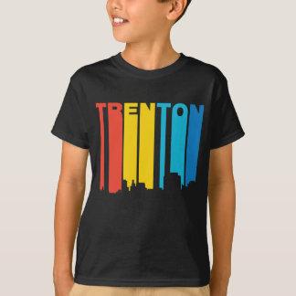 Retro 1970's Style Trenton New Jersey Skyline T-Shirt