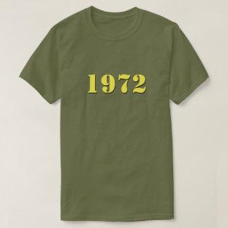 Retro 1972 T-shirt (yellow)