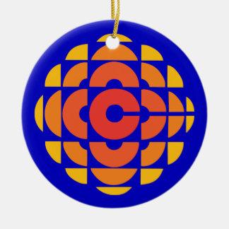 Retro 1974-1986 round ceramic decoration