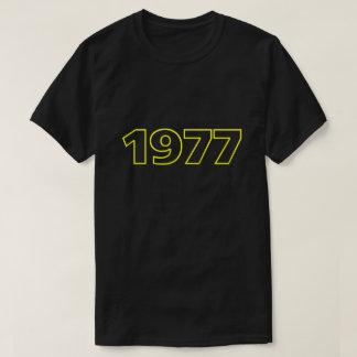 Retro 1977 T-Shirt (yellow)