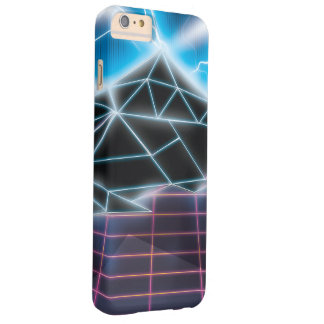 Retro 1980s video game graphic barely there iPhone 6 plus case